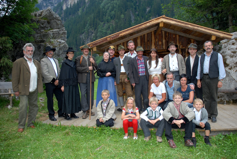 Das Ensemble aus 2008